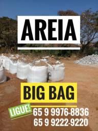 Areia Brita aterro terra preta(big bag ou solto)