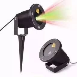 Projetor Laser Led Natal Papai Noel Casa Espeto Festa Led 5w Ultima peça mostruario