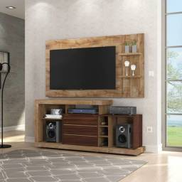 Rack + painel para tvs de até 47
