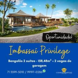 Bangalôs 2 suítes - Imbassaí Privilege