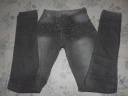 Calça Jeans com elastano - 36
