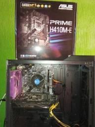 Processador Intel I3-10100f + Placa Mãe Asus Prime H-410-e