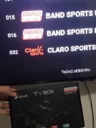 Tv box olha só quantos canais show