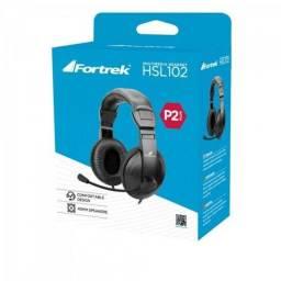 Fone De Ouvido Fortrek Multimedia Headset Hsl-102 Preto