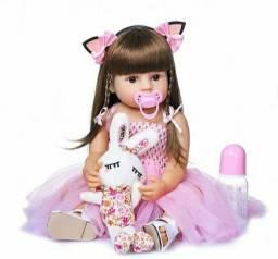 Boneca Bebê Realista Reborn Menina Betina Barata Promoção
