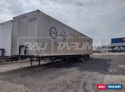 Carreta furgao aluminio