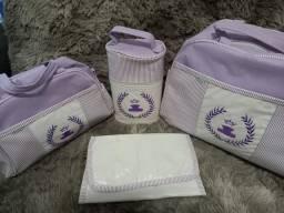 Conjunto de bolsa para bebê