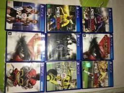 Troco ou Vendo jogos de PS4