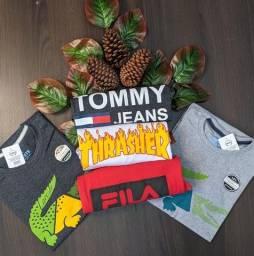 3 Camisetas por R$79,90 ( Várias Estampas ) Super Oferta