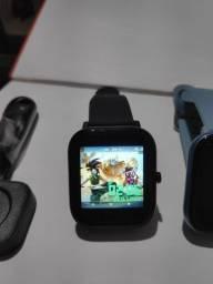 Promo smartwatch P8 várias funções
