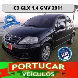 Promoção - Citroen C3 GLX 1.4 GNV 2011