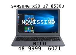 Notebook Samsung X50 I7 8 geração