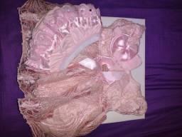 Saída de maternidade menina