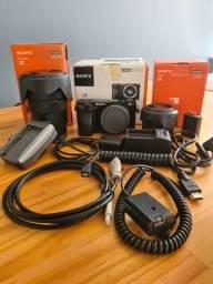 Câmera Sony a6000 + Lente Sony 18-105 f4 + Lente Sony 35mm f1.8 + Acessórios