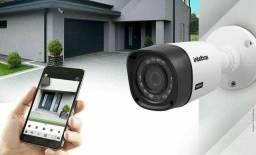 Kit de câmera de segurança com desconto imperdível