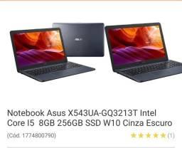 Notebook Asus Core i5 Em 10x Sem Juros
