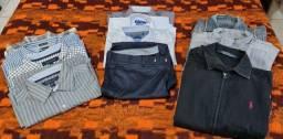 Camisas, Jaquetas e Calça Social