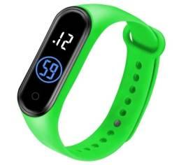 elógio Digital M4 Led Relógio Impermeável Esportiva Sports
