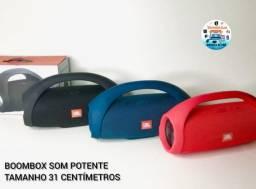QUEIMA DE ESTOQUE!! Caixa De Som Boombox JBL 31cm 60W Potência