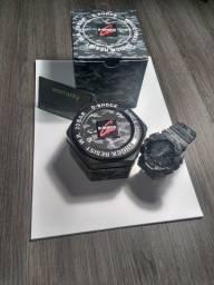 Relógio g-shock (cinza camuflado) original