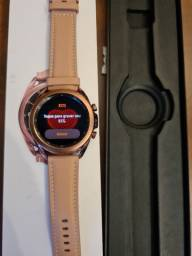 Samsung Watch 3 Bronze 41mm impecável!