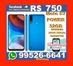 Novo Motorola Moto E7 Power 32GB