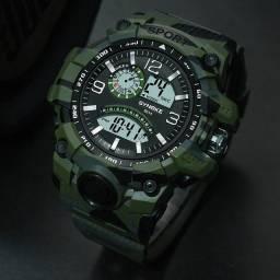 Relógio Esportivo Masculino Multifuncional Esportivo Com Tela Grande