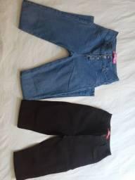 Calças femininas diversos tamanhos