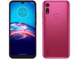 Smartphone Motorola Moto E6i 32GB Pink - 4G 2GB RAM Tela 6,1? Câm. Dupla + Selfie 5MP<br><br>