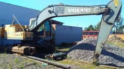 Escavadeira Volvol EC 210 2009 vendendo em peças