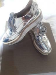 Tênis Vizzano Feminino Sneaker Prata