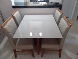 Mesa Modal de jantar nova completa pintura laka e madeira