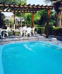 Rancho com 2 dormitórios à venda, 95 m² por R$ 430.000,00 - Zona Rural - Santo Antônio do