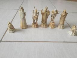 Jogo de xadrez Harry Potter, completo
