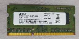 Memória DDR3 de notebook 2GB