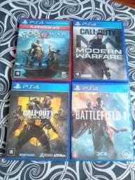 Vendo barato jogos ps4 200reais  zap * bh