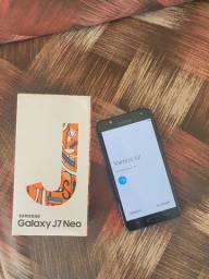 Samsung Galaxy J7 Neo usado novíssimo!! Praticamente novo! Imperdível!!!