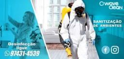 Sanitização de Ambientes empresas escolas clinicas hoteis residencias