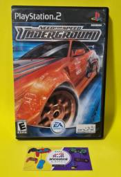 Need for Speed Underground (sem manual) - PS2
