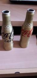 Garrafas em Alumínio vazias Coca Cola Olimpíadas 2016 RJ - Edição Limitada
