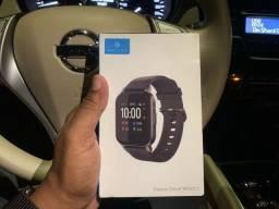 "Smartwatch Haylou LS02, Tela 1.4"", Bluetooth 5, Preto - Versão Global<br><br>"