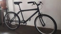 Bike toda boa so pegar e andar,cuxim,manete,cabos de aço,freio novos