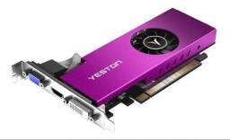 Placa de vídeo 4gb RX 550 low profile