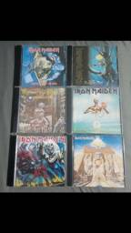 Cds Iron Maiden nacionais