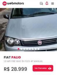 Fiat Palio way 2017 completo