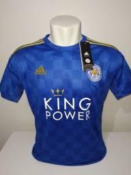 Camisa Leicester City 2019/20 Adidas