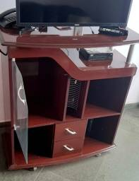 Vendo mesa/ cadeiras/ rack/ sofá/ mancebo