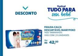 Fralda-Calça MamyPoko Tamanho XXG 24un