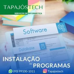 Instalação de programas
