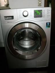 Lavadora e secadora Samsung ecobubble